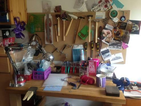 jewelery workbench